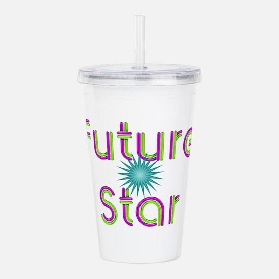 Future Star Acrylic Double-wall Tumbler