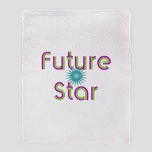 Future Star Throw Blanket