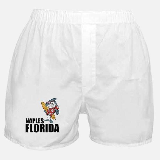 Naples, Florida Boxer Shorts