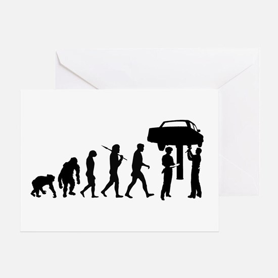 Auto Mechanic Greeting Cards