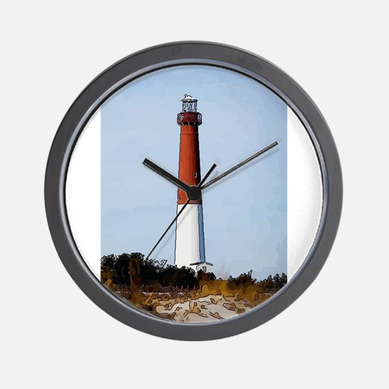 Old Barney Lighthouse Wall Clock