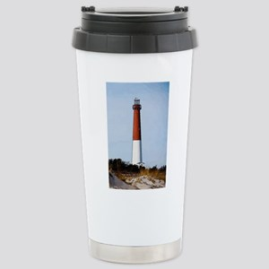 Old Barney Lighthouse Stainless Steel Travel Mug