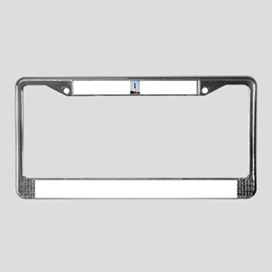 Old Barney Lighthouse License Plate Frame