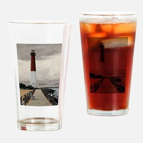 Barnegat Light Lighthouse NJ Drinking Glass