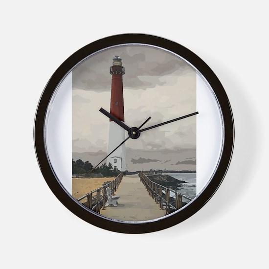 Barnegat Light Lighthouse NJ Wall Clock