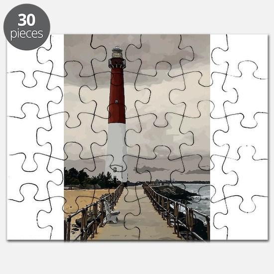 Barnegat Light Lighthouse NJ Puzzle