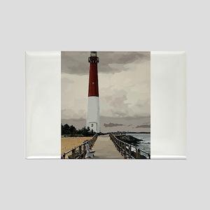 Barnegat Light Lighthouse NJ Magnets