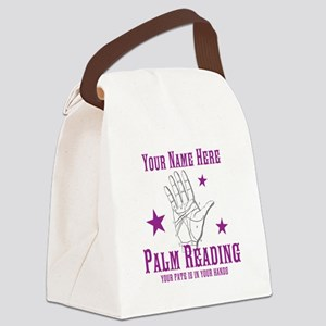 Palm Reading Canvas Lunch Bag