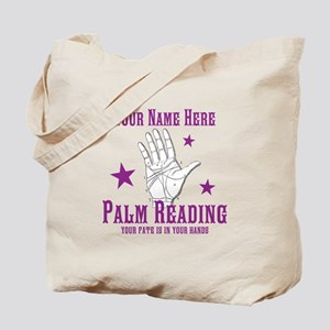 Palm Reading Tote Bag