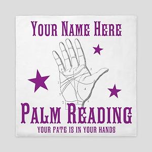 Palm Reading Queen Duvet