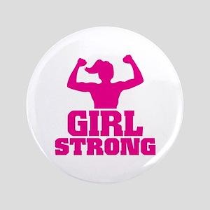 Girl Strong Button