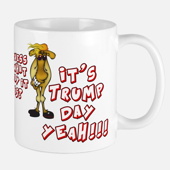 Funny TRUMP Day Camel Mugs
