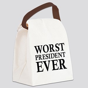 Worst President Ever Canvas Lunch Bag