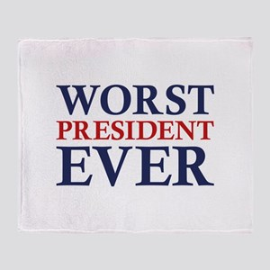 Worst President Ever Stadium Blanket