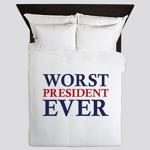 Worst President Ever Queen Duvet