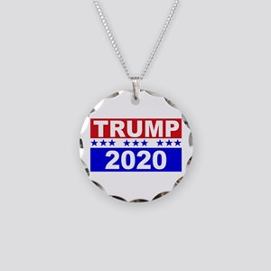Trump 2020 Necklace Circle Charm