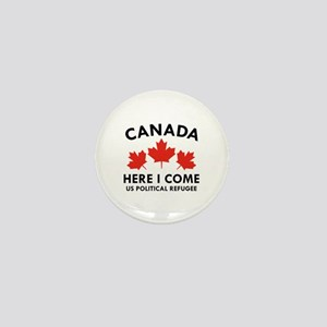 Canada Here I Come Mini Button