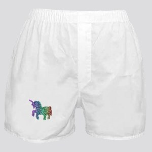 unicorn rainbow Boxer Shorts