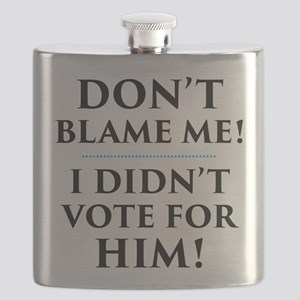 I Didn't Vote for Him Flask