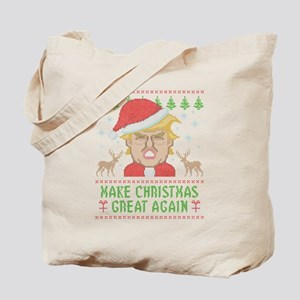 Trump Make Christmas Great Again Tote Bag