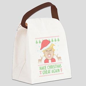 Trump Make Christmas Great Again Canvas Lunch Bag