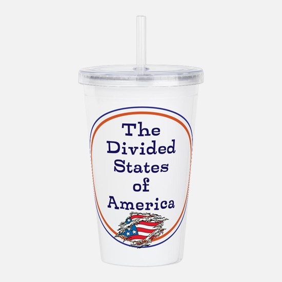 The divided states of America Acrylic Double-wall