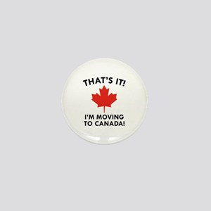 Move To Canada Mini Button