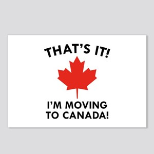 Move To Canada Postcards (Package of 8)