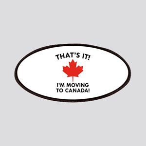 Move To Canada Patches