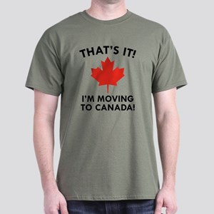 Move To Canada Dark T-Shirt