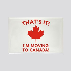 Move To Canada Rectangle Magnet