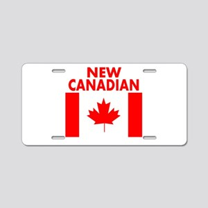 New Canadian Aluminum License Plate