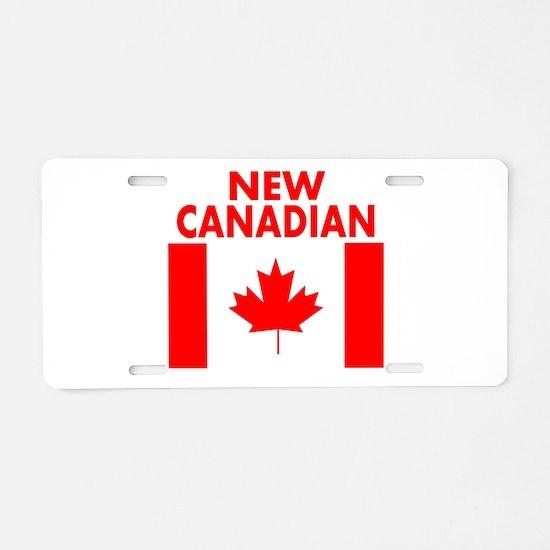 New Canadian Aluminum License Plate