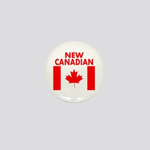 New Canadian Mini Button