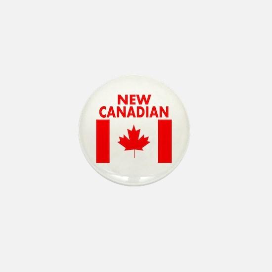 New Canadian Mini Button