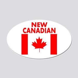 New Canadian Wall Decal