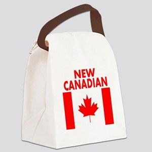 New Canadian Canvas Lunch Bag