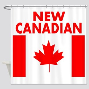 New Canadian Shower Curtain