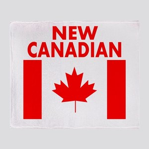 New Canadian Throw Blanket