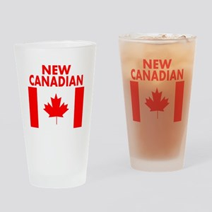 New Canadian Drinking Glass
