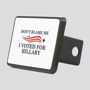 I Voted For Hillary Rectangular Hitch Cover