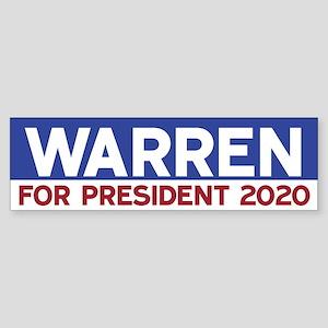Elizabeth Warren 2020 Bumper Sticker