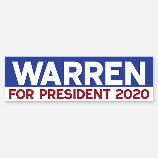 Elizabeth Warren 2020 Bumper Bumper Bumper Sticker