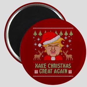 Trump Make Christmas Great Again Magnet