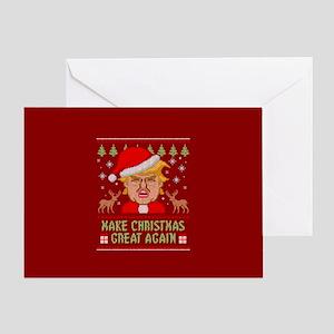 Ugly Christmas Greeting Cards - CafePress