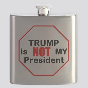 Trump is NOT my president Flask