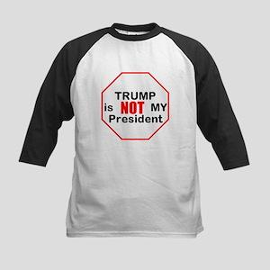 Trump is NOT my president Baseball Jersey
