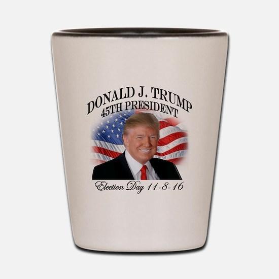 Unique Presidents Shot Glass
