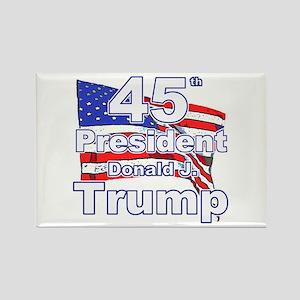 Trump 45 Rectangle Magnet