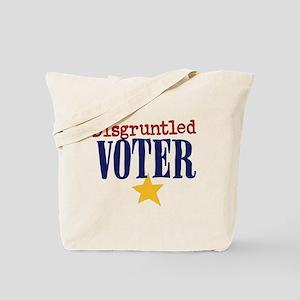 Disgruntled Voter Tote Bag